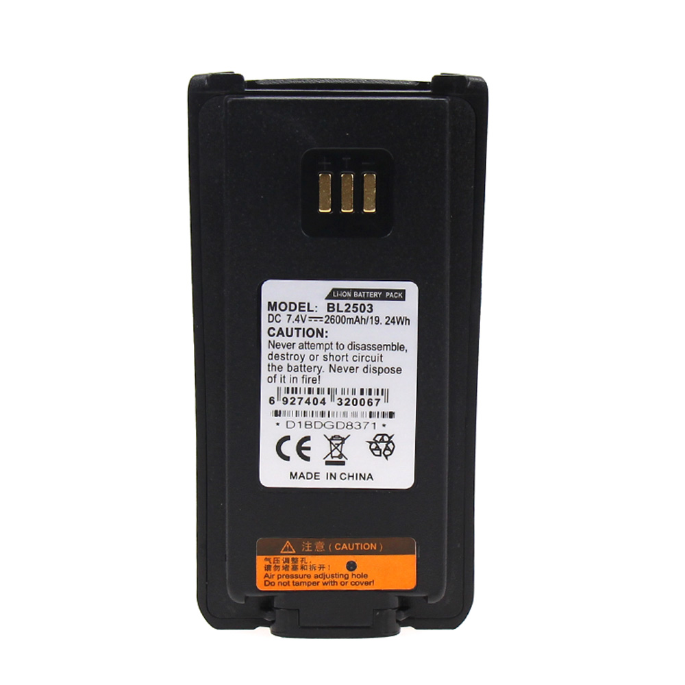 10X Replacement Battery for HYT BL2006 BL2008 DMR PD 702 DMR PD 782 PD 502 PD 506 PD 606 PD700 PD 700 PD700S PD702G U1 in Walkie Talkie Parts Accessories from Cellphones Telecommunications
