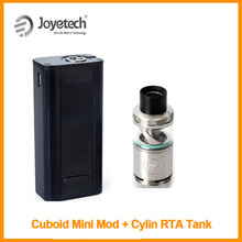 Special Offer 100% Original Joyetech Cuboid Mini Battery Mod (Simple Package) And Cylin RTA Atomizer Built in 2400mAh E-Cig(China)