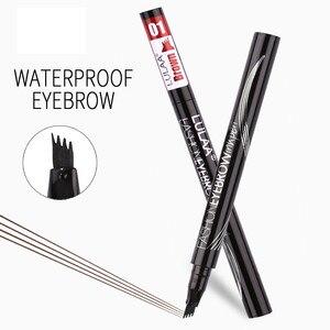 Image 5 - 6 Tint Dye กันน้ำดินสอเขียนคิ้ว eyebrow SHADOW สำหรับคิ้วแต่งหน้ากันน้ำ Long Lasting Sketch Liquid eyebrow WAX