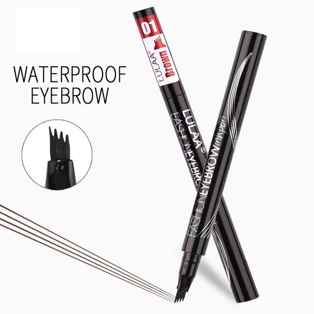 Waterproof eyebrow pencil Tattoo pen eyebrow pencil Eyebrow shadow makeup eyebrow pencil fine sketch liquid eyebrow pencil 5