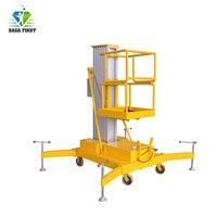 10m Electric Aluminum Alloy Single Mast Aluminum Lift Platform