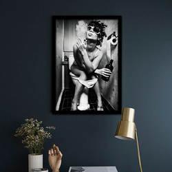 Горячая продажа Сексуальная альтернатива красоты ванная комната декоративное украшение на стену настенная живопись Персонализированная