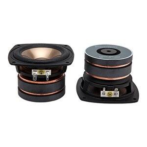 Image 5 - AIYIMA 1PC 4 pouces gamme complète haut parleur pilote 4Ohm 100W Audio haut parleur son musique colonne pour Home cinéma bricolage