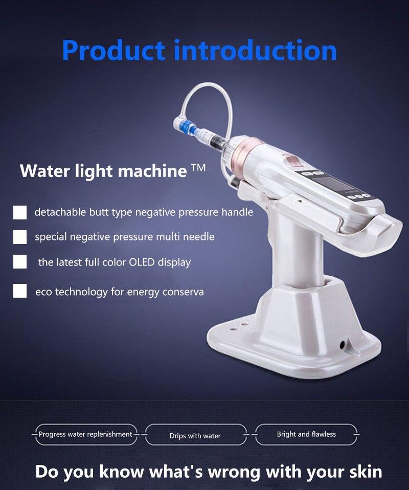 Injetor de água mesotherapy pressão negativa meso