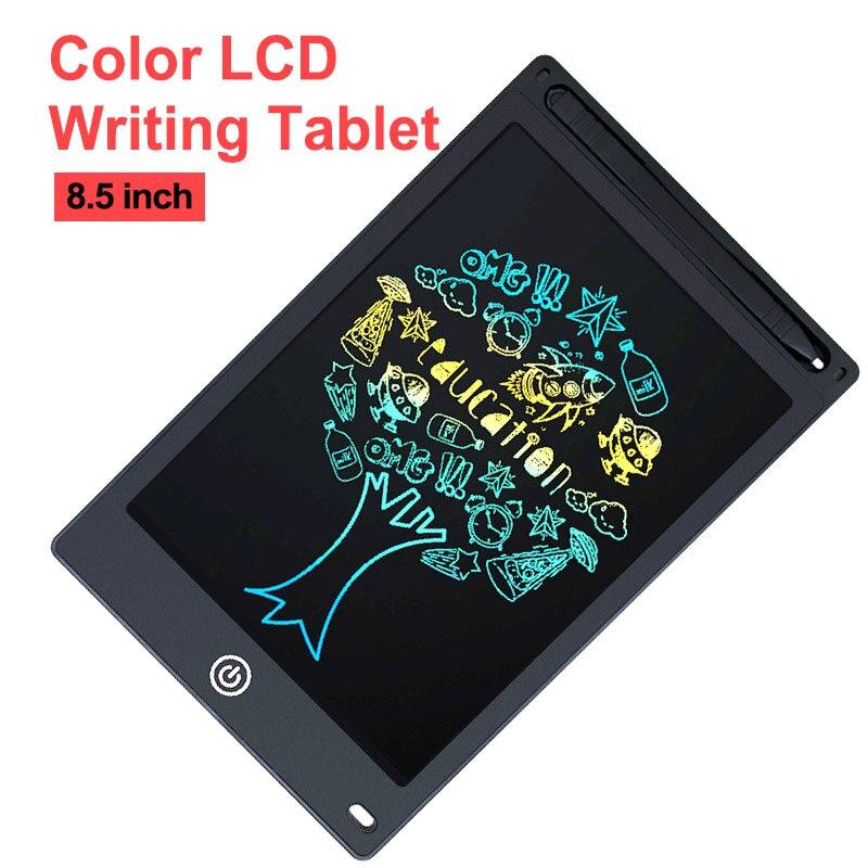 8.5 cala pisanie Tablet graficzny dla dzieci elektroniczna grafika Tablet/Pad/Board Tablet lcd do pisania cyfrowy wymazywalny Tablet graficzny