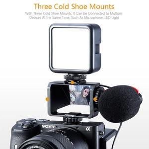 Image 4 - UURig Vlog Macchina Fotografica Dello Schermo di Vibrazione Staffa Per Selfie Mirrorless Camera Periscopio Soluzione Per Sony A6500/6300/A7M3 A7R3 nikon Z6/Z7