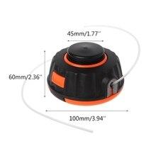 Universal Garden Trimmer Head Line Pump 2 Lines Strimmer Brush Cutter Lawn Mower N84C