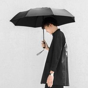 Image 4 - Xiaomi Mijia Automatic Rainy umbrella Sunny Rainy Summer Aluminum Windproof Waterproof UV Parasol Sunshade Man Woman  Winter