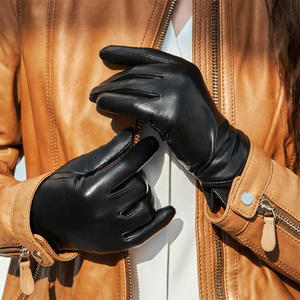 Image 5 - Youpin Qimian AllTouch Touch Screen Gloves Full Finger Waterproof Spanish Raw Soft Leather Warm For Women Man Warm Winter Drivin