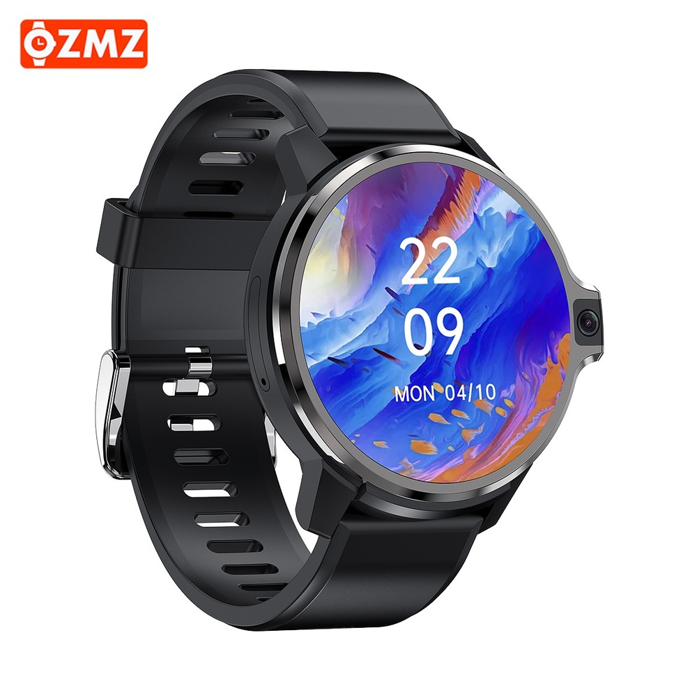 Permalink to OZMZ 4G Smart Watch DM30 4GB 64GB Android 9.1 GPS Wifi Dual System 1050Mah Fitness Track Heart Rate Monitor 1.6 Inch SmartWatch