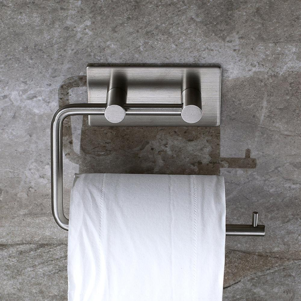 Toilet Paper Holder Stainless Steel Roll Wall Mounted Towel Rack Bathroom Napkin Hot