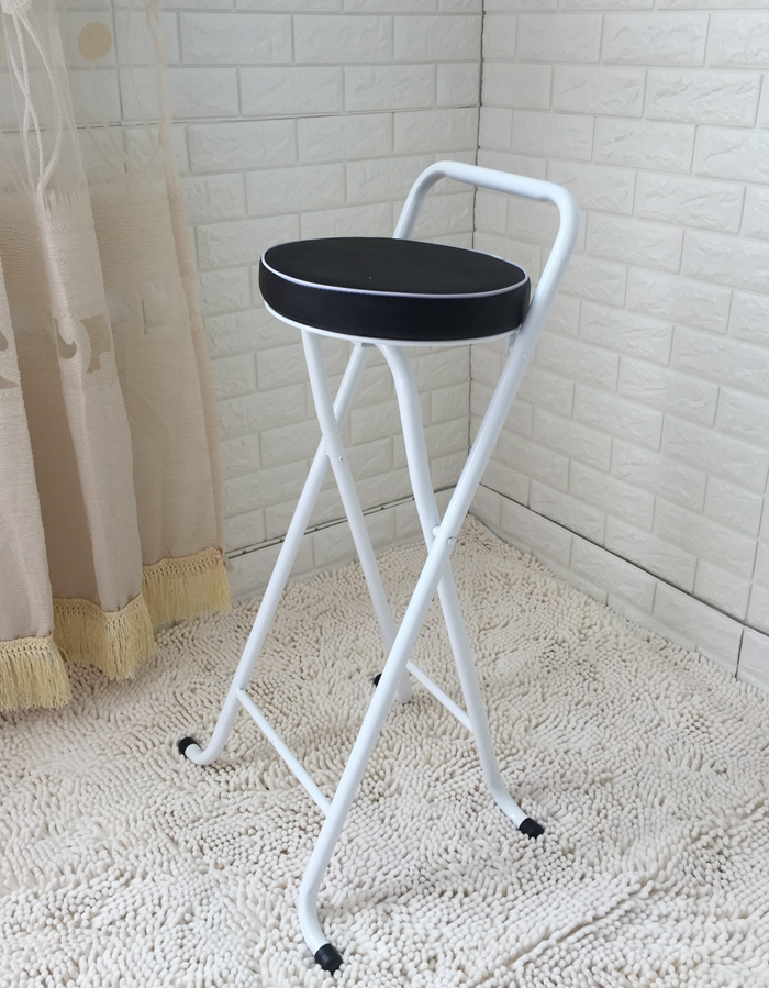 New European High Stool Bar Stool Bar Stool Folding Fishing Stool Thickening High Chair