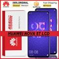 100% оригинал 6,26 ''ЖК дисплей с рамкой для Huawei Nova/5t YAL-L21 L61A L61D L71A ЖК-дисплей с сенсорным экраном дигитайзер в сборе