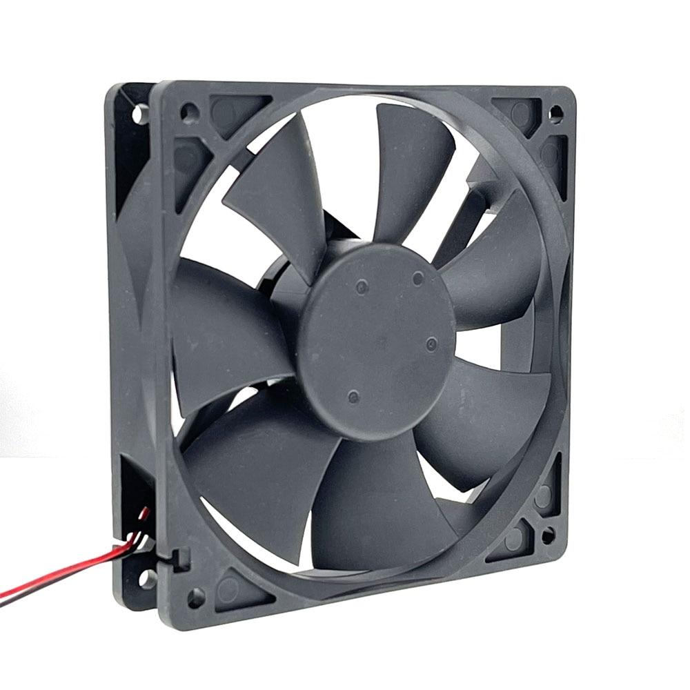 New for AFB1212SH 12CM 120MM 12025 DC 12V 0.80A Cooling Fan 2-p Ball Bearing  3400 rpm 113CFM ,High Speed CFM 2