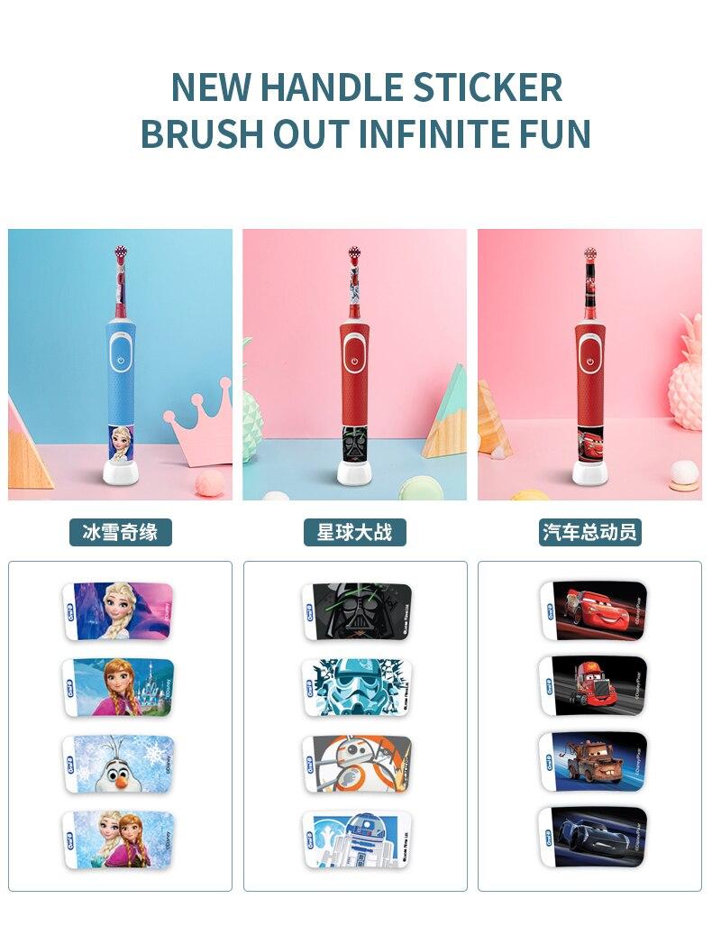carregamento à prova dwaterproof água escova de dentes para crianças 3 +