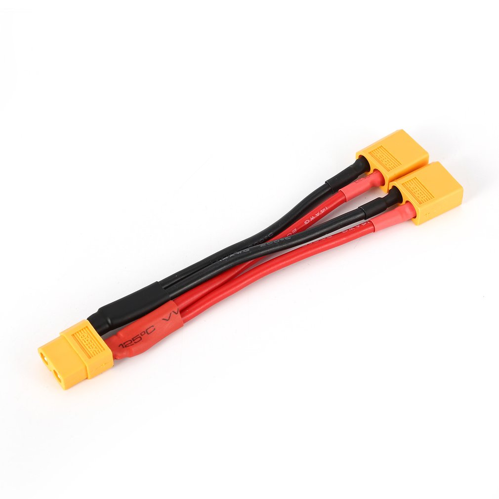 QTY- Male Tamiya to Female XT60 Connector Adapter NiMH NiCd Dynamite Packs 3