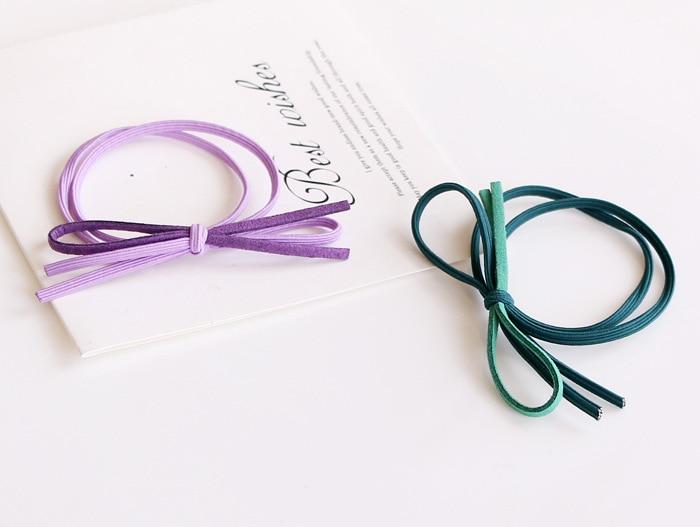 base de borracha banda elasticidade bowknot dupla