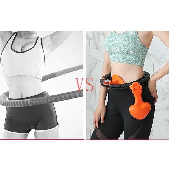 Sports Hoop thin waist girls abdomen increase beauty waist weight loss artifact fitness circle equipment 1