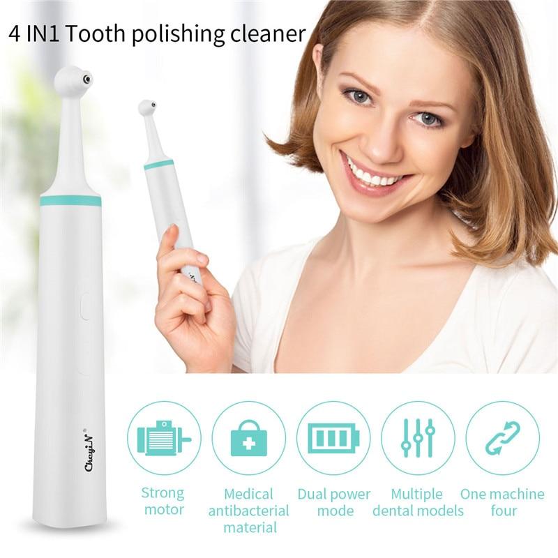 4 em 1 dentes ferramenta de clareamento dental scaler tártaro remoção de dentes removedor de manchas cálculo removedor mancha borracha polidor limpador 48