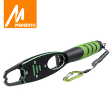 Pesca MEREDITH Grip empuñaduras de agarre de aleación de aluminio, 14kg/32lb, báscula de peso