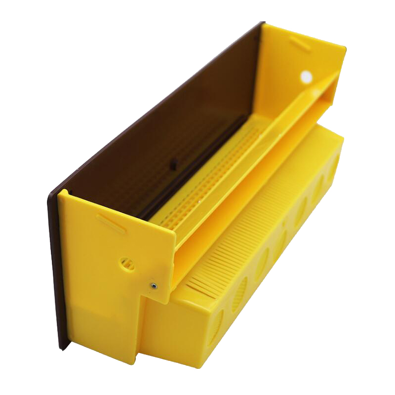 1 Set Beekeeping Pollen Trap Plastic Pollen Collector Beehive Durable Entrance Equipment With Ventilated Pollen Tray
