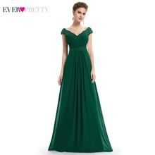 Robe De Soiree 2020 EB23368 Elegante EINE Linie V Ansatz Appliques Formale Abendkleid Lange Rote Formale Hochzeit Kleider plus Größe