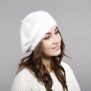 Hat Women Lady Winter Imitation Rabbit Hair Hat New Winter Wool Hat Thickened Warm Knit Hat Hats For Women Hats Cap For Women