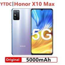 Fast Ship Honor X10 Max 5G Smart Phone 7.09 inch RGBW Screen 5000mA Battery NFC 6GB 8GB RAM 128GB ROM Main 4800MP Super Charger
