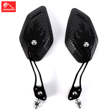 1 Pair Road Bike Handlebar Rearview Bicycle Mirror MTB BMX Wide Rnage Cycling Rear View Reflector Adjustable Mirrors