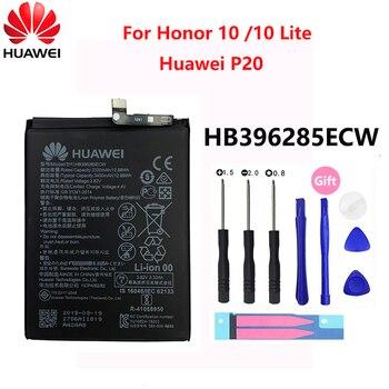 100% Original Hua Wei Replacement Phone Battery HB396285ECW 3400mAh For Huawei P20 Honor 10 Honor10 Lite Batteries Batteria