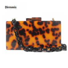 Brand Fashion Designer Women New Acrylic Luxury Evening Bag Leopard Print Party Prom Handbag Woman Casual Amber Box Clutch Purse la maxza popular hot sale fashion lady manufacturing designer clutch purse woman handbag wholesale cheap factory evening bag