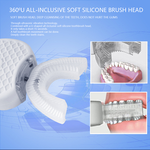 Image 3 - فرشاة أسنان كهربائية جديدة للكبار من سونيك فرشاة أسنان لاسلكية 360 درجة فرشاة أسنان أوتوماتيكية ذكية تعمل بالكهرباء