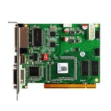 Linsn – carte d'envoi synchrone polychrome TS802D ts802, fonctionne avec le contrôleur vidéo