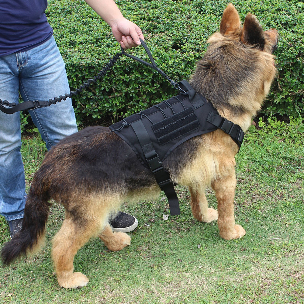 Animal - Military Tactical Dog Harness German Shepherd Pet Dog Vest Harness For Small Large Dogs