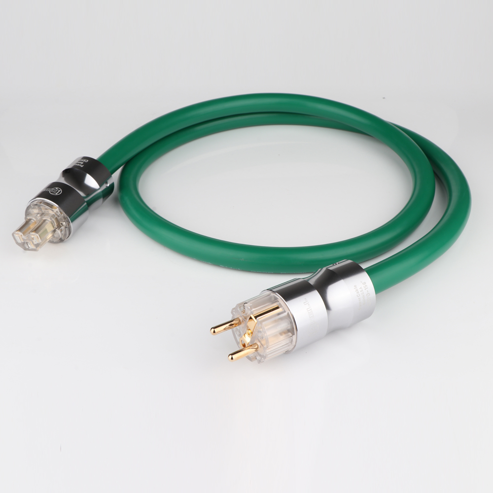 Hifi audio <font><b>MCINTOSH</b></font> <font><b>2328</b></font> power line HI-end EU/US AC power cable Power Cord with EU/US version gold plated Plug AC cable cord image