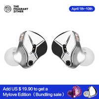 Auriculares TFZ HIFI doble magnético, doble cavidad, Bobina de voz doble, diafragma de diamante, cavidad metálica