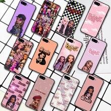 Fashion Brand Doll Bratsy Phone Case For HUAWEI Honor 6A 7A 8 8A 8S 8x 9 9x 9A 9C 10 10i 20 Lite Pro black Bumper Soft Etui Tpu