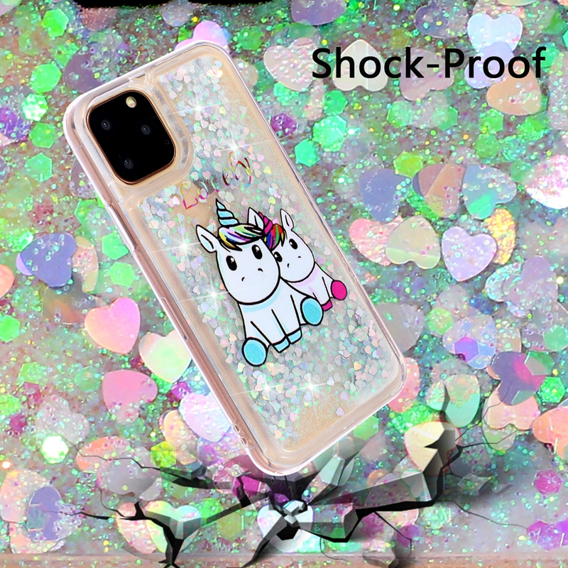 Girls Glitter Star Case for iPhone 11/11 Pro/11 Pro Max 11
