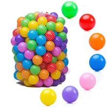 Ephex 5,5 см пластиковые распознавания способность обученный океан Bobo мяч 100 шт нетоксичный родителей-детей взаимодействие палатка Bobo мяч забава