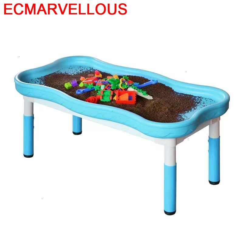 And Chair De Estudio Toddler Child Pour For Kids Plastic Game Kindergarten Enfant Kinder Study Mesa Infantil Children Table