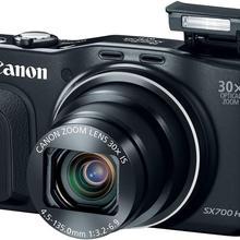 USED Canon PowerShot SX700 HS Digital Camera - Wi-Fi 16.1 me