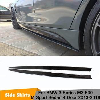 3 series carbon fiber front bumper diffuser spoiler lip for bmw f30 standard only 2012 2013 2014 2015 316i 320i 328i 335i 318d Extension Side Lip F30 Carbon Fiber Side Skirt Extensions for BMW F30 3 Series M3 Sedan 320i 328i 335i 320d 328d 2013-2018
