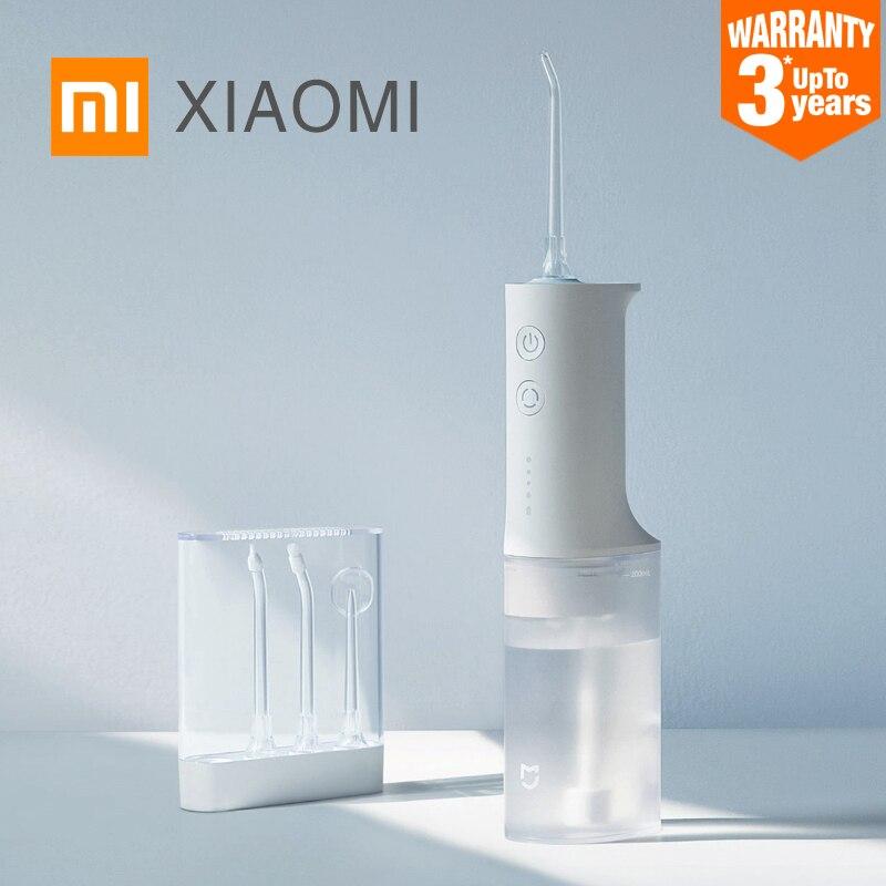 XIAOMI MIJIA MEO701 Portable Oral Irrigator Dental Irrigator Teeth Water Flosser bucal tooth Cleaner waterpulse 200ML 1400/min(China)