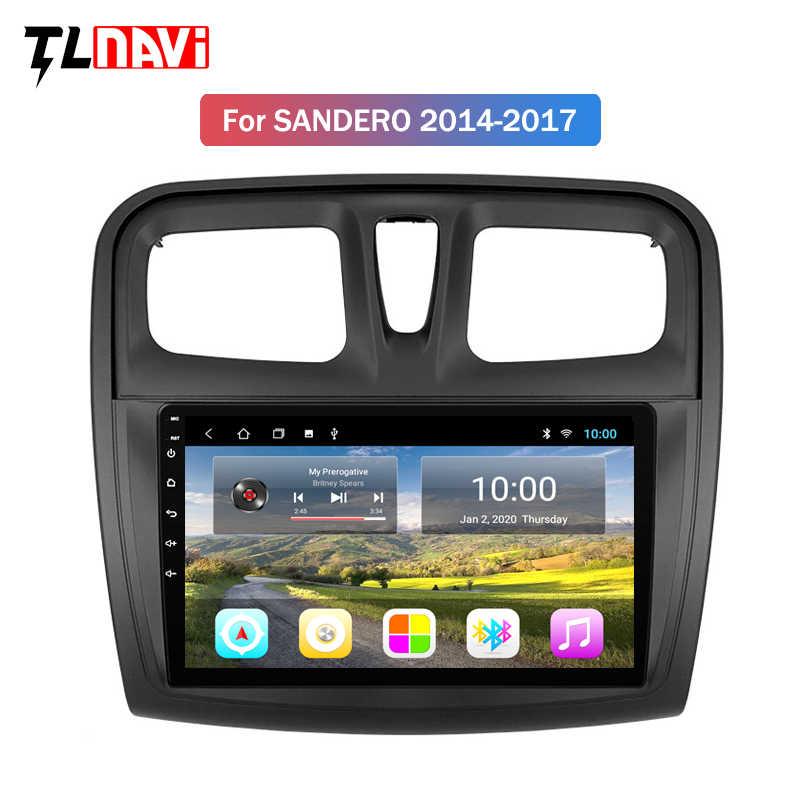 2G RAM 9 inç Renault Logan için 2 2012 2019 Sandero 2 2014 2019 sembol araba radyo multimedya Video oynatıcı navigasyon gps