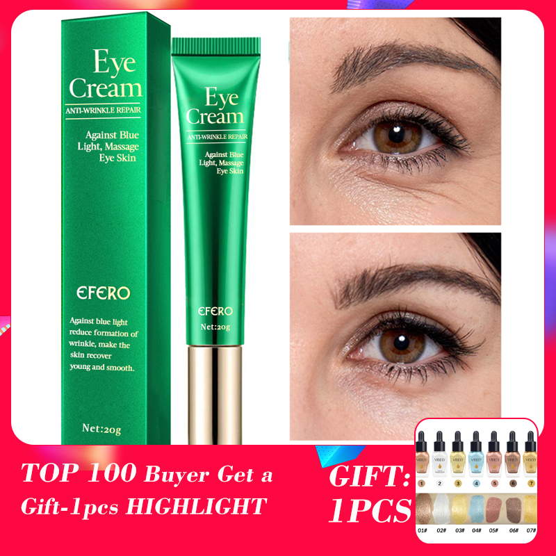 EFERO Anti Wrinkle Eye Cream Anti-Puffiness Remove Dark Circle Care Anti-Aging Moisturizing Creams Bags Remover
