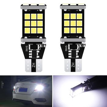 2x T15 921 W16W Canbus LED Bulb White Car Backup Reverse Lights For BMW E46 E39 E90 E60 E36 F30 F10 E30 E34 X5 E53 M M3 M4 Z4 Z3 image