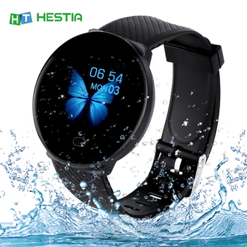 Smart Watch Men Blood Pressure Waterproof Smartwatch Women Heart Rate Monitor Fitness Tracker Watch