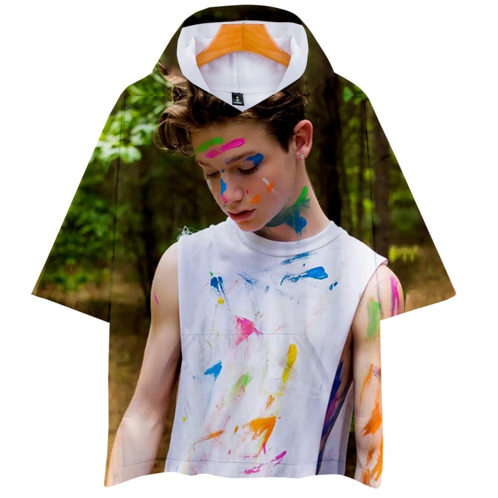 Payton Moormeier 3D Hooded T-shirt Short Sleeve Summer Autumn 2020 New Kids Unisex Harajuku Summer New Tee