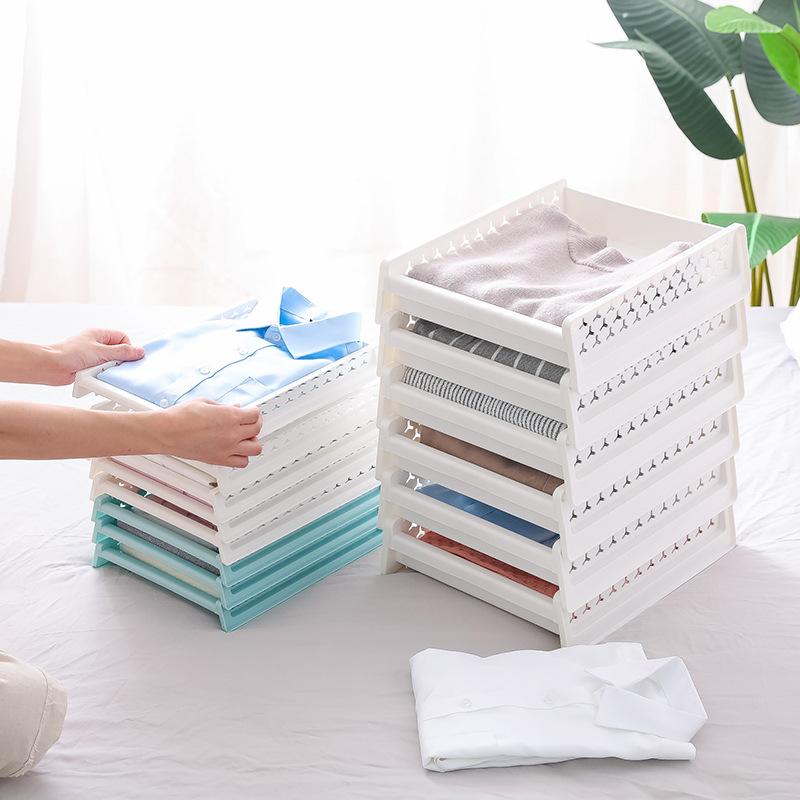 DIY Plastic Drawer Storage Holder Cabinet Closet Storage Box Underwear Bra Socks <font><b>Shirt</b></font> Case Thickening Bathroom <font><b>Organizer</b></font> Rack image