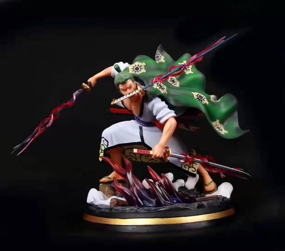 32cm NEW Anime One Piece Roronoa Zoro Anime Figure Three Thousand World Effect PVC Action Figure Collection Model Toys Gifts